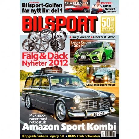 Bilsport nr 5 2012