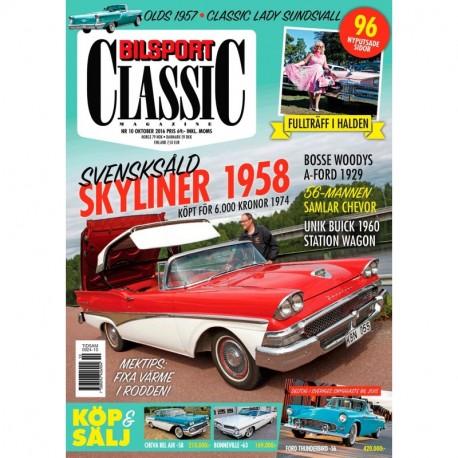 Bilsport Classic nr 10 2016