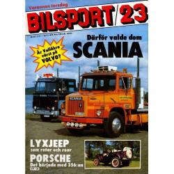 Bilsport nr 23  1979