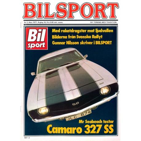 Bilsport nr 3  1977