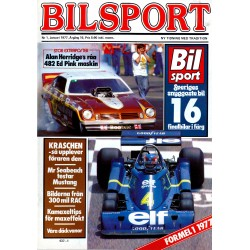Bilsport nr 1  1977