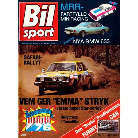 Bilsport nr 5  1976