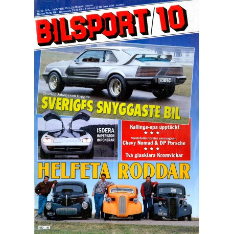 Bilsport nr 10  1988