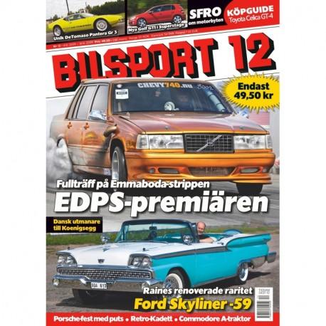 Bilsport nr 12 2009