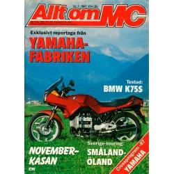 Allt om MC nr 1  1987