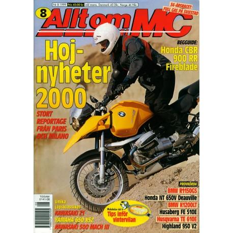 Allt om MC nr 8  1999