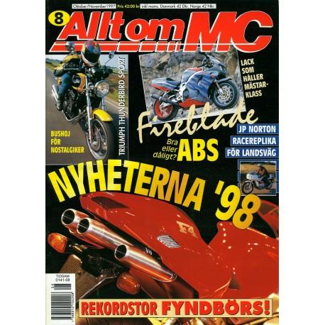 Allt om MC nr 8  1997