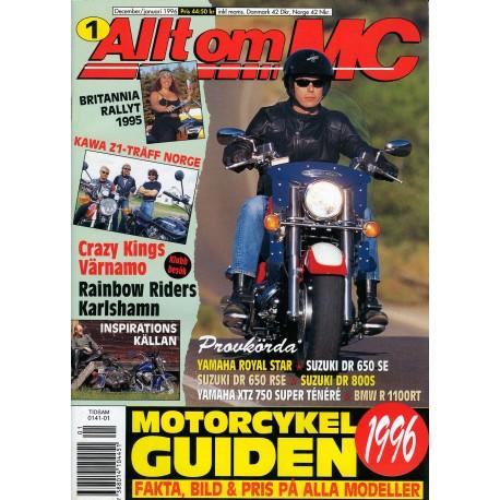 Allt om MC nr 1  1996