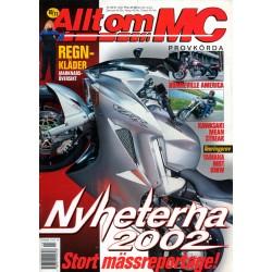 Allt om MC nr 10  2001