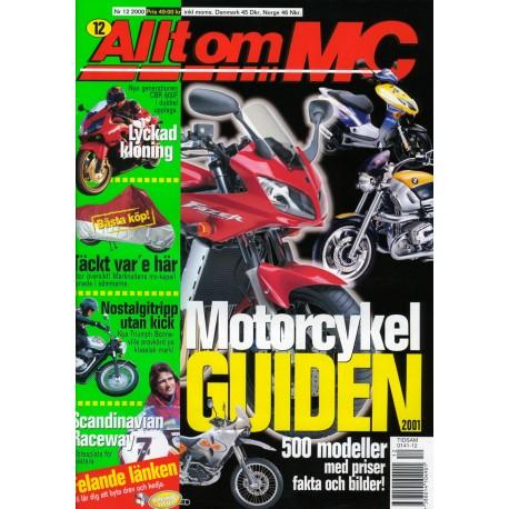 Allt om MC nr 12  2000