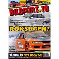 Bilsport nr 16 2007