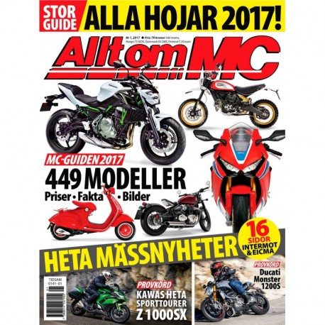 Allt om MC nr 1 2017