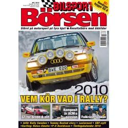 Bilsport Börsen nr 2 2010