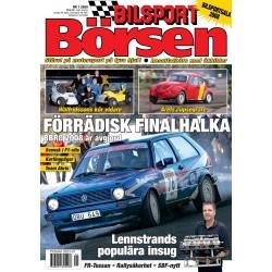 Bilsport Börsen nr 1 2009