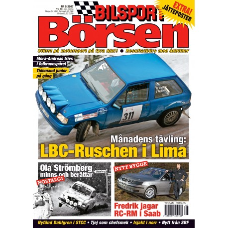 Bilsport Börsen nr 5 2007