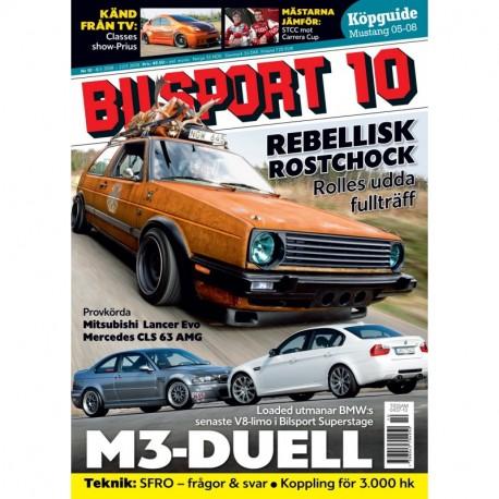 Bilsport nr 10 2008