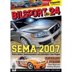 Bilsport nr 24 2007