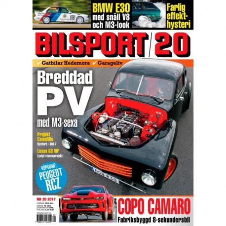 Bilsport nr 20 2017