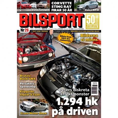 Bilsport nr 26 2012