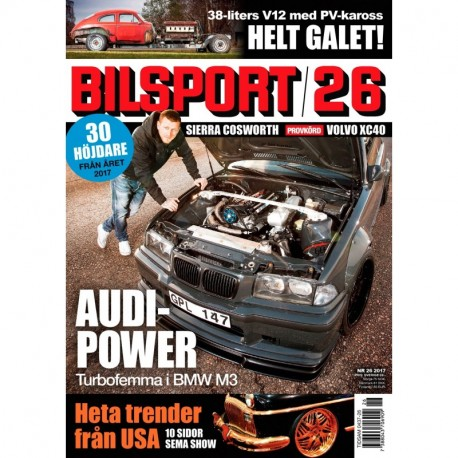 Bilsport nr 26 2017