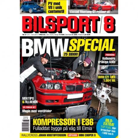 Bilsport nr 8 2015
