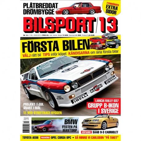 Bilsport nr 13 2015