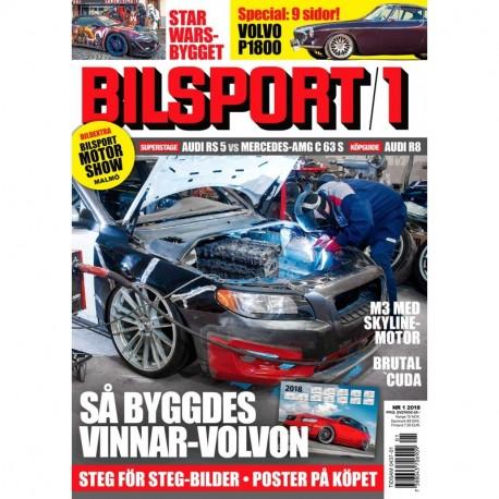 Bilsport nr 1 2018