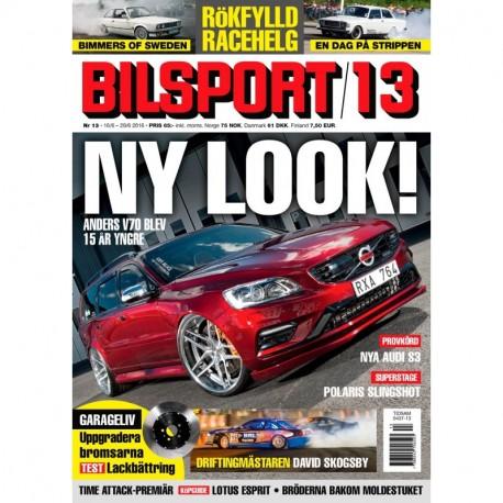 Bilsport nr 13 2016